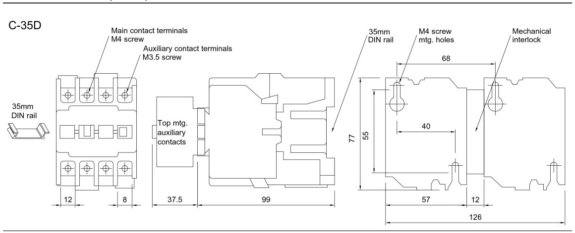 ms1 contactor motor diagram   27 wiring diagram images